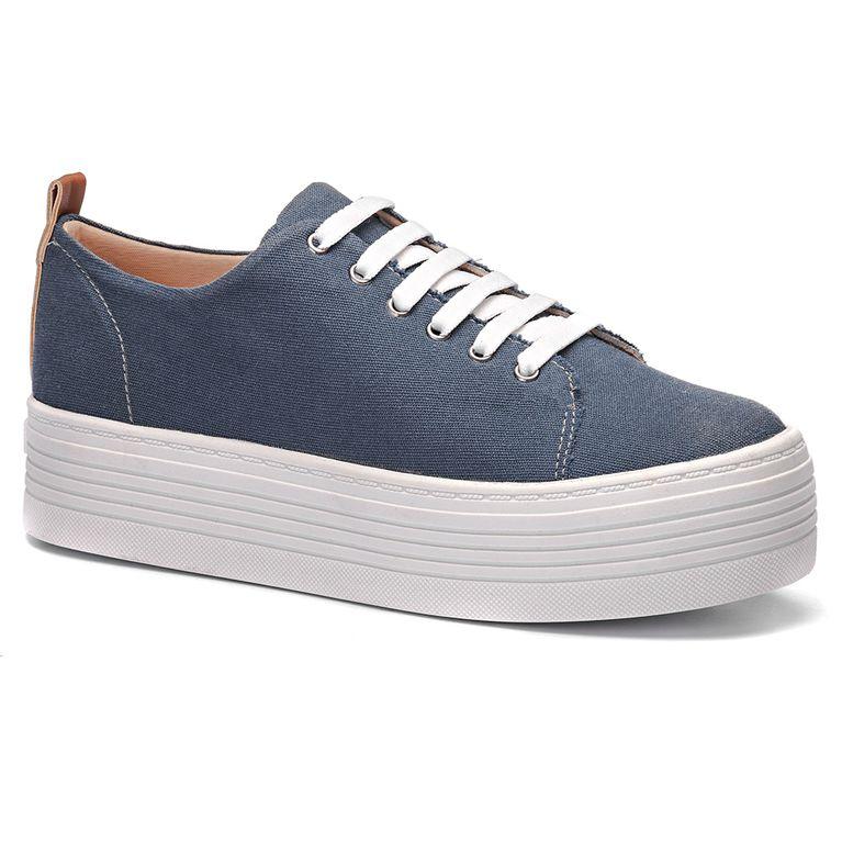934ff3139 Tênis Feminino Milano Lona Blue Jeans 10577 - milano
